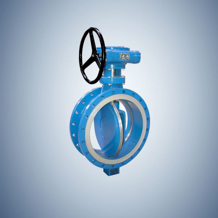 Worm Wheel Flange Type Concentric Butterfly Valve