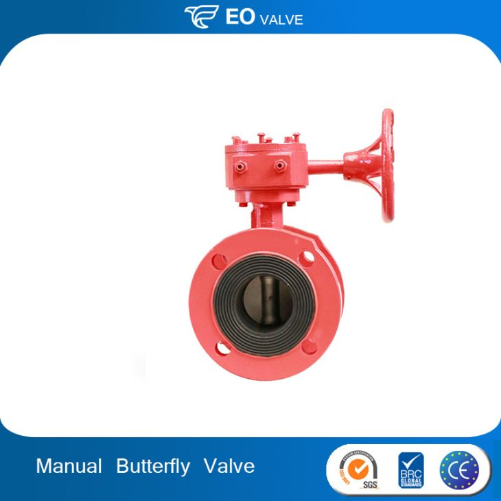 300PSI Manual FM Approved Butterfly Valves