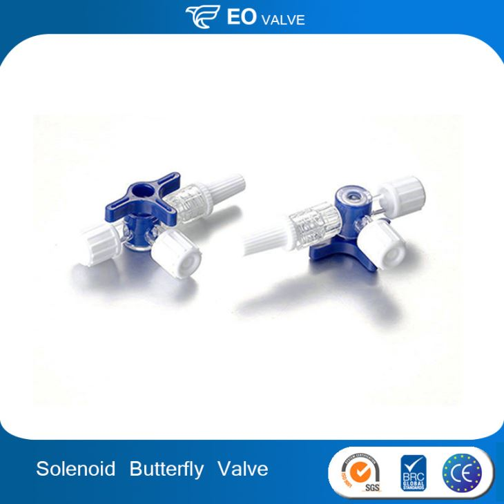 Butterfly Triple Plastic Structure Three Way Solenoid Valve