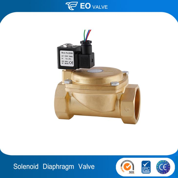 Diaphragm Water Solenoid Valve With High Quality