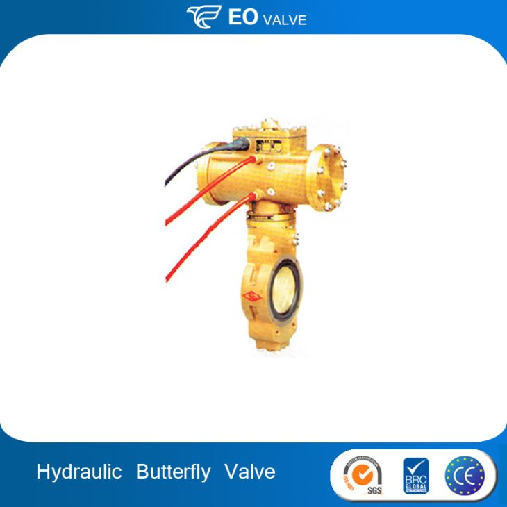 Hydraulic Wafer Type Control Flow Butterfly Valve