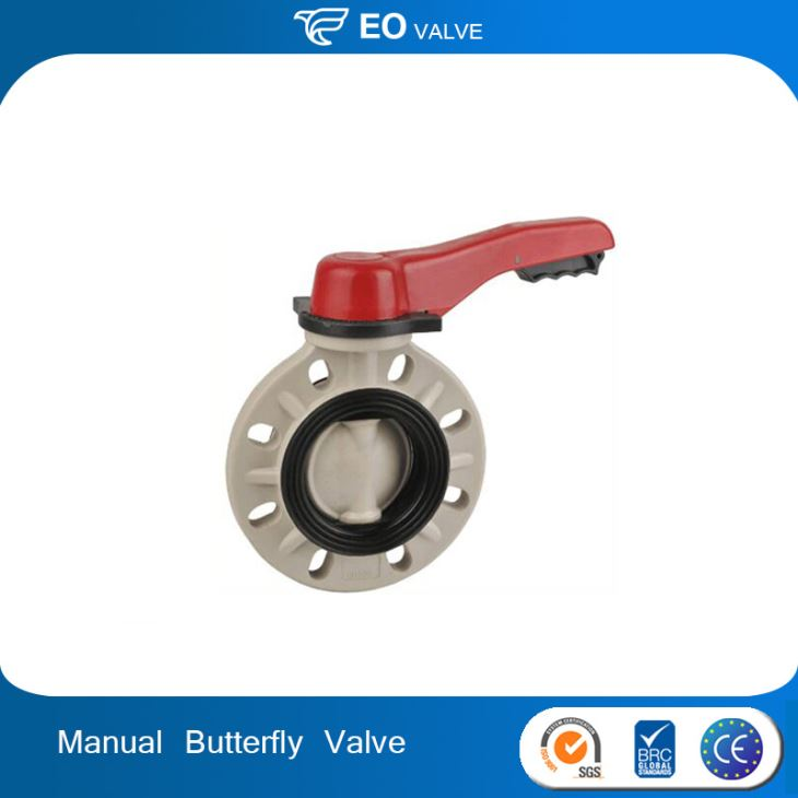 Manual 3 Inch Butterfly Valve Handles DN80