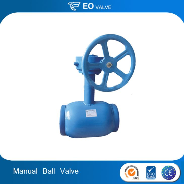 Manual Full Welded Ball Valve Float Valve