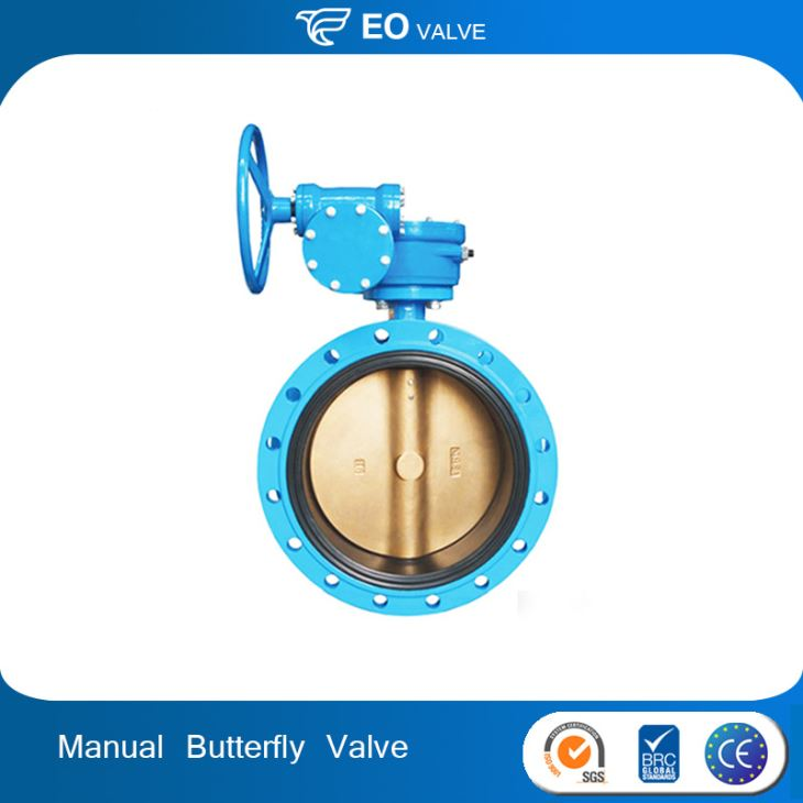Manual High Performance Butterfly Valve For Cement