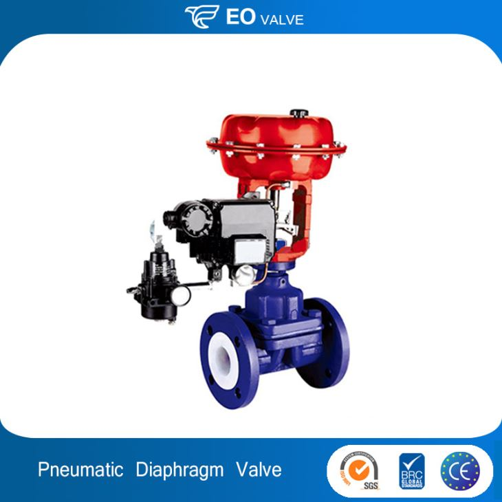 Pneumatic Actuator Diaphragm Valve