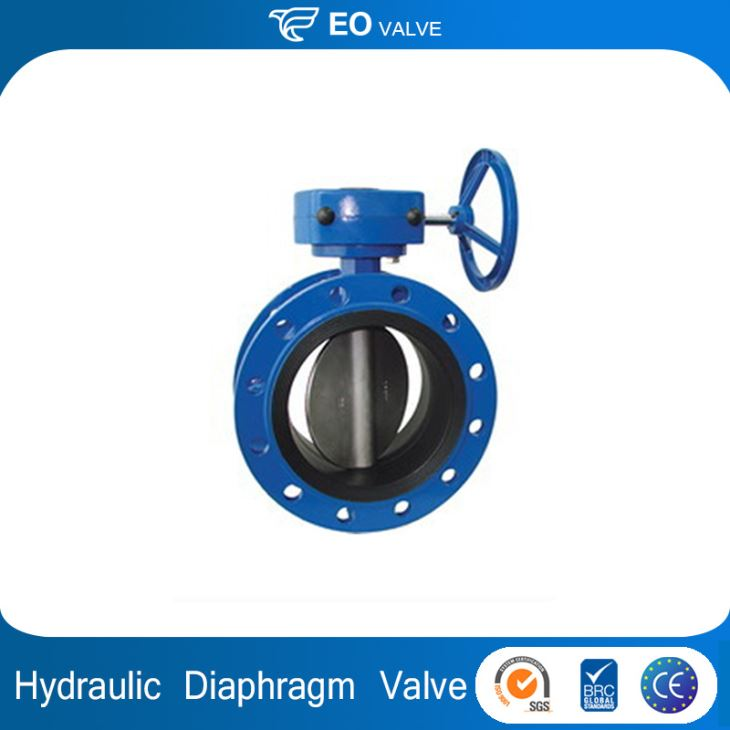 Pneumatic Diaphragm Flanged Butterfly Hydraulic Modular Valve
