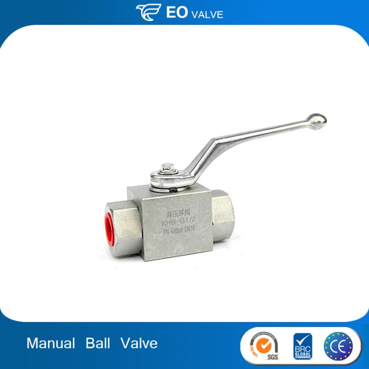 Pressure Carbon Steel Manual Ball Valve With Thread Connection