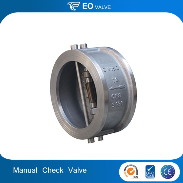 Promotional DN200 Dual Pate Wafer Type Silent Check Valve