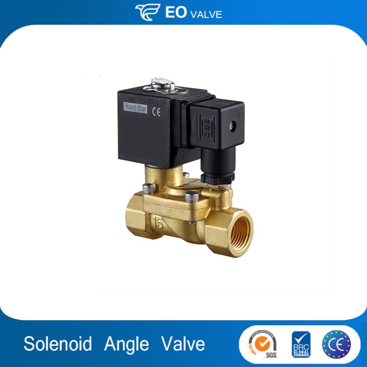 Right Angle Pulse Solenoid Valve