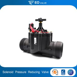 3 Inch Electric Water Pressure Reducing Plastic Water Solenoid Valve