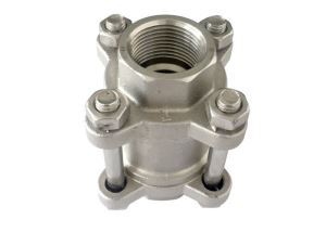 3-PC Vertical Spring Check Valve