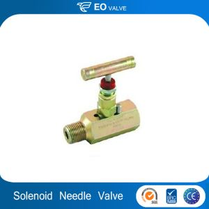 Brass Needle Valve 1000psi With Solenoid