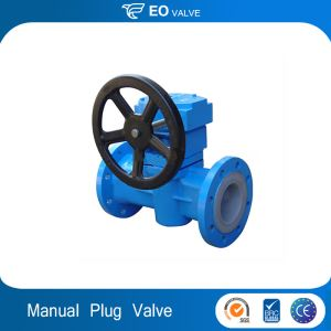 Carbon Steel Manual Twin Seal Plug Valve