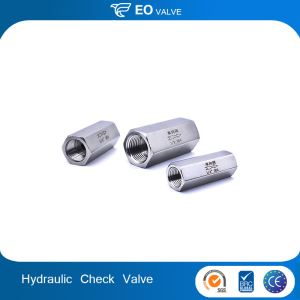 Cheap Solid Six Angle Female Hydraulic Check Valve