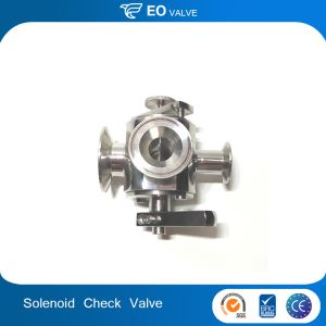 CNC Machine Router Turning Rotary Solenoid Valve Check Valve