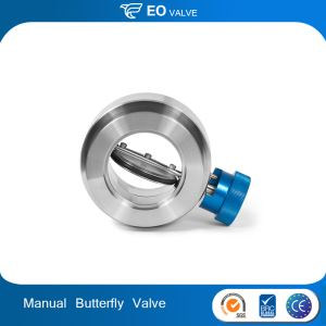 CNC Machining Stainless Steel Manual Butterfly Check Valves