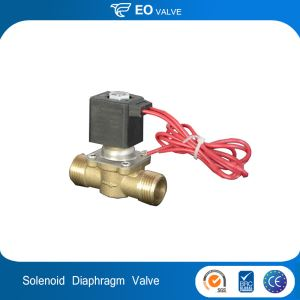 Diaphragm Type Brass Water Auto Supply Or Water Drainage Solenoid Valve