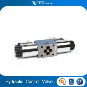 Directional Control Valve 24v 220v Hydraulic Solenoid-controlled Valve