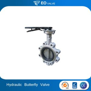 Dn 80 Wafer Hydraulic Actuator Butterfly Valve