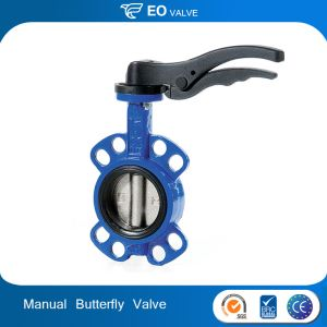 DN200 Manual Stainless Steel Wafer Butterfly Valve