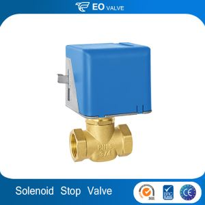 Electric Three Way Stop Valve Motor-Driven Stop Valve