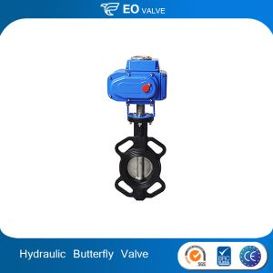 Exhaust Hydraulic Electric Actuator Butterfly Valve