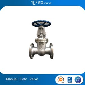 Hand Wheel Wedge Shutoff Valves Flange Connection Manual Gate Valve