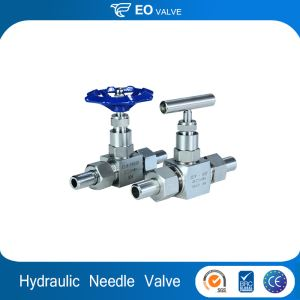 High Pressure Control Hydraulic 2 Way Needle Valve