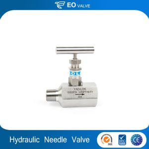High Pressure Welding 1/4 Hydraulic Control Needle Valve