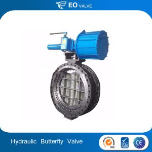 Hydraulic Actuator Butterfly Valve From China Market