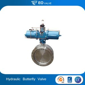 Hydraulic Control Stainless Steel Body Butterfly Valve