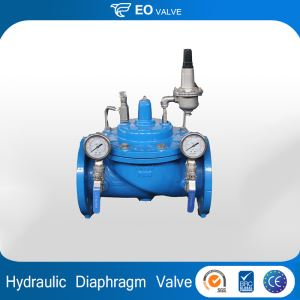 Hydraulic Ductile Iron Diaphragm Type Water Pressure Reducing Valve
