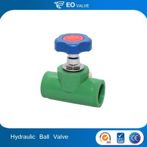 Hydraulic Pneumatic Plastic Male Thread Water Ball Valve