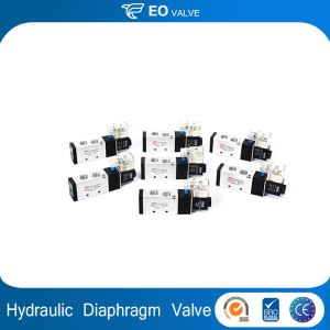 Hydraulic Pressure Relief Diaphragm Electric Pneumatic Solenoid Valve