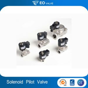 KLS Series Stainless 2/2 Way Pilot Acting High Pressure Solenoid Valve