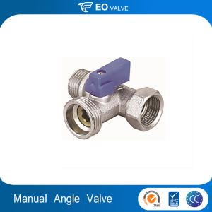 Manual Brass Angle Ball Stop Valve