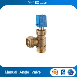 Manual Cut-off Valve Brass Iron Angle Union Copper Stop Valve