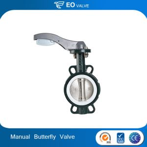 Manual Fire Protection 6 Inch Wafer Butterfly Valve