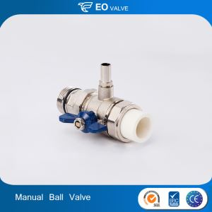 Manual Loose Joint PPR Ball Valve Cooper High Quality Ball Valve 1/2