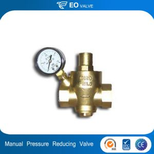 Manual Operate Brass Pressure Reducing Valve
