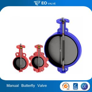 Manual U Type Flange Center Line Butterfly Valve