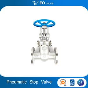New Arrival High Quality Cast Iron Water Pneumatic Stop Gate Valve
