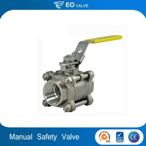 Normal Temperature Manual Gas Safety Valve