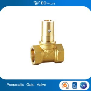 One Way Digital Control Internal Thread Pneumatic Gate Valve