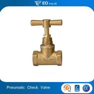 Pneumatic Hand Control Angle Seat Valve Angle Stop Check Valve