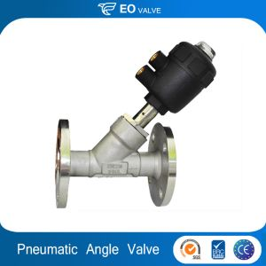 Professional Design Pneumatic Flanged Angle Seat Valve