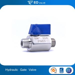 Sale Stainless Steel 2 Way Ball Valve Hydraulic Choke Valve Wedge Gate Valve