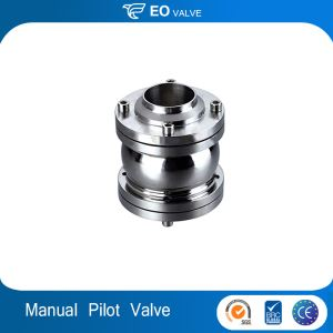 Sanitary Stainless Steel Piston Check Valve Pilot Operated Check Valve