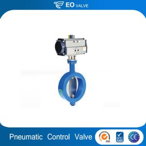 Stainless Steel Actuator Control Pneumatic Sanitary Valve