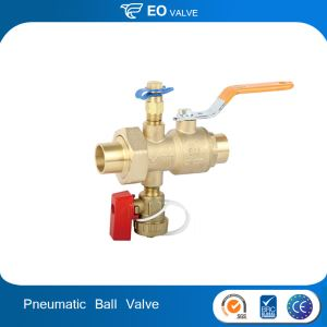 Union Combination Pneumatic Ball Valve